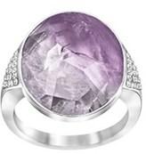 Swarovski Crystal Plated Ring.
