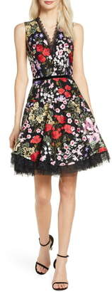Bronx and Banco Alicia Floral Minidress