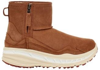 UGG Men's Classic Sheepskin-Lined Waterproof Suede Boots