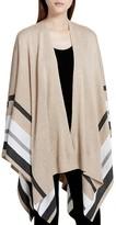 Calvin Klein Striped Ruana