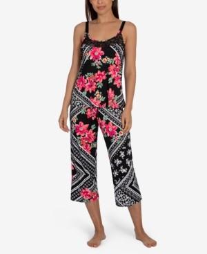 Linea Donatella Marabel Patch Cropped Pajama Set