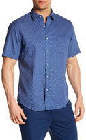 Toscano Short Sleeve Starlight Linen Regular Fit Shirt