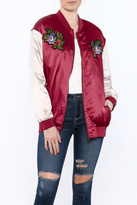 Hayden Red Bomber Jacket