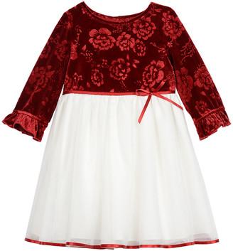 Pastourelle Velvet Dress