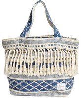 Rip Curl High Tide Fringe Beach Bag - Blue