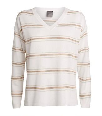 Lorena Antoniazzi Fine-Knit Stripe Sweater