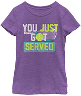 Fifth Sun Purple Berry 'Got Served' Tee - Girls