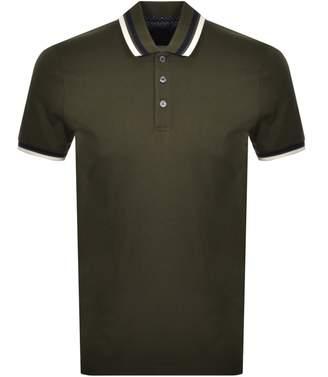 Ted Baker Short Sleeved Kazza Polo T Shirt Khaki