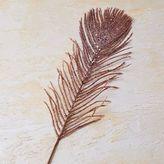 west elm Kraft + Glitter Feather