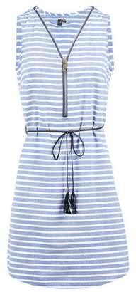Dorothy Perkins Womens *Izabel London Striped Zip Front Dress
