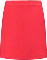 DKNY Wool-twill mini skirt