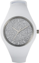 Ice Watch Ice Glitter - White Silver - Small