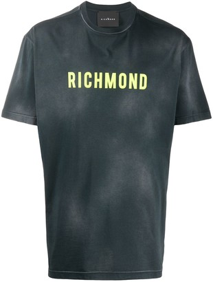 John Richmond distressed T-shirt