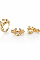 House Of Harlow Horseshoe Stack Ring in Gold