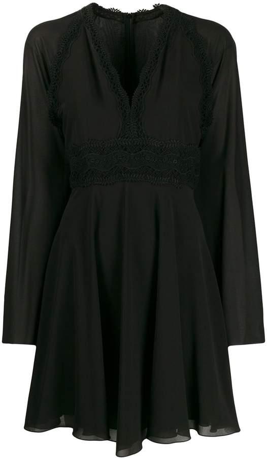 Giamba long-sleeve shift dress
