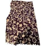 Mulberry Purple Viscose Scarves