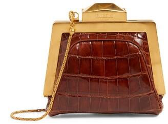 Rubeus Mini Crocodile Mydas Clutch Bag