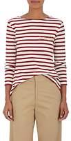 """Maison Labiche Women's Mariniere """"Femme Fatale"""" Striped Cotton T-Shirt"""