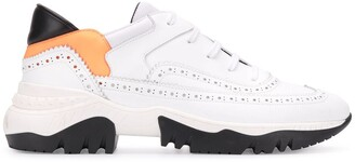 A.F.Vandevorst Perforated Trim Sneakers