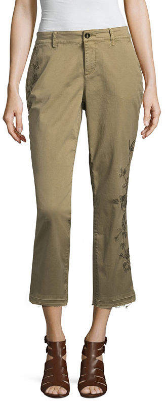 A.N.A Embroidered Chino - Tall Inseam 30