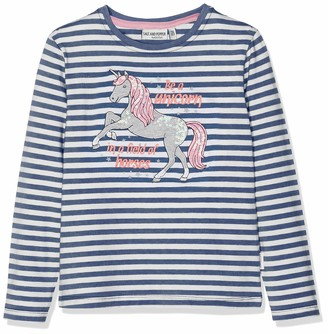 Salt&Pepper Salt and Pepper Girls' Longsleeve Friend Stripe T-Shirt
