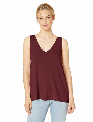 Daily Ritual Supersoft Terry V-neck Tank Cami Shirt