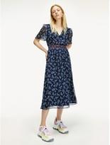 Tommy Hilfiger Paisley Chiffon Dress