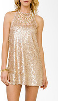 Forever 21 Shimmering Paillette Cocktail Dress