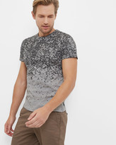 Ted Baker Fade out graphic cotton T-shirt