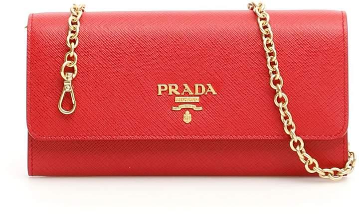 4a23b09ff626 Prada Bag Chain Strap - ShopStyle