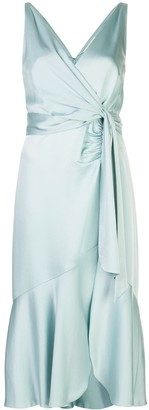 Jonathan Simkhai Mia satin midi dress
