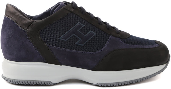Hogan Interactive Black Sneakers - ShopStyle
