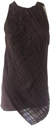 Brunello Cucinelli Brown Cashmere Top for Women