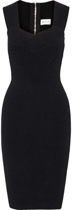 Milly Ribbed Woven Dress