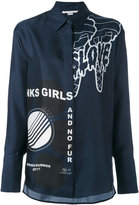 Stella McCartney statement print shirt - women - Silk - 38