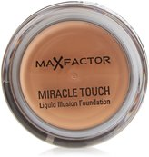 Max Factor Miracle Touch Liquid Illusion Foundation-# 85 Caramel for Women-11.5G