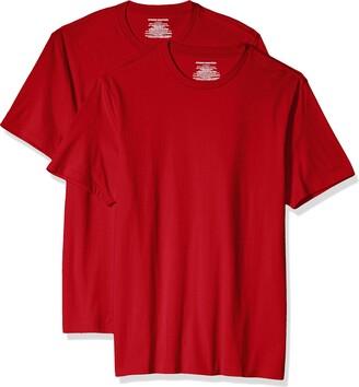 Amazon Essentials 2-Pack Slim-Fit Short-Sleeve Crewneck T-Shirt