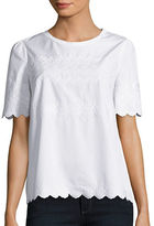 Max Mara Canore Scalloped Trimmed Top