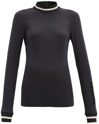 Bogner Madeleine Stretch-jersey Base-layer Top - Black