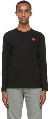 Comme des Garcons Black Heart Long Sleeve T-Shirt