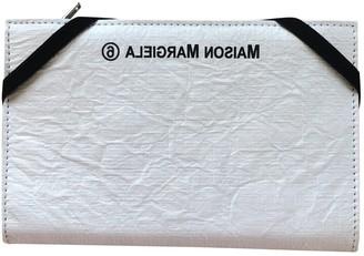 Maison Margiela White Leather Wallets