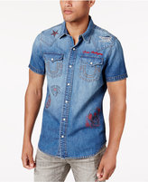 True Religion Men's Western Dual Pocket Shirt