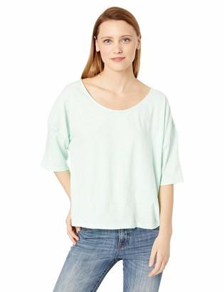 Skinnygirl Women's Catt Dolman Short Sleeve Top