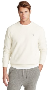Polo Ralph Lauren Men's Cotton Textured Crewneck Sweater