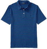 Ralph Lauren Striped Cotton Jersey Polo