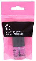 Superdrug 2in1 One Top Coat with Nail Hardener