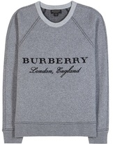 Burberry Wool And Cashmere Sweatshirt