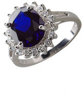 Lord & Taylor Oval Cubic Zirconia Ring
