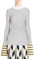Emilio Pucci Women's Bell Sleeve Rib Knit Sweater