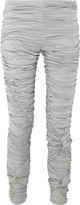 Burberry Prorsum Ruched cotton-jersey leggings